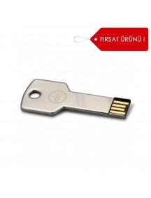 Anahtar Şeklinde Metal USB Bellek