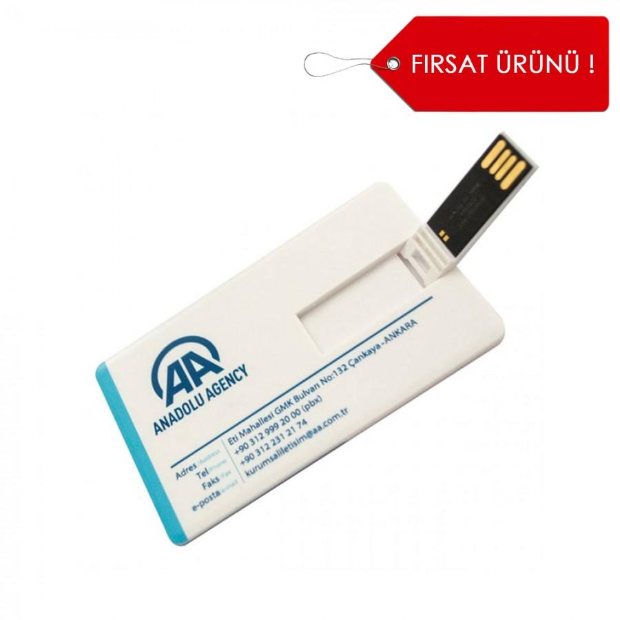 Kredi Kartı Şeklinde USB Bellek
