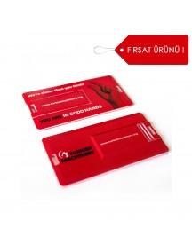 Kredi Kartı Şeklinde Dikdörtgen USB Bellek