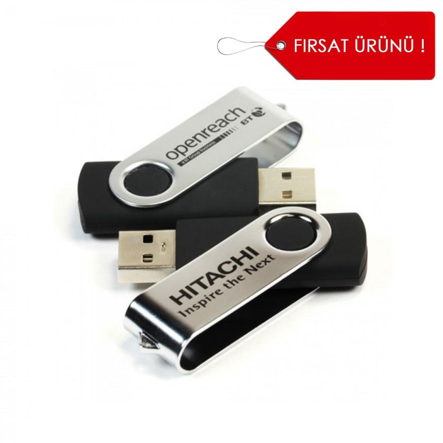 Döner Kapaklı USB Bellek