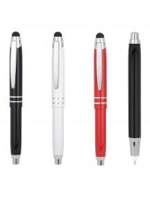 Touch Pen Işıklı Metal Tükenmez Kalem