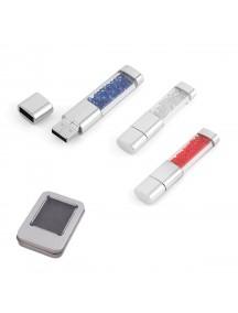 Metal Kristal Taşlı USB Bellek