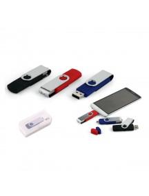 Döner Kapaklı USB Bellek (OTG Özellikli)