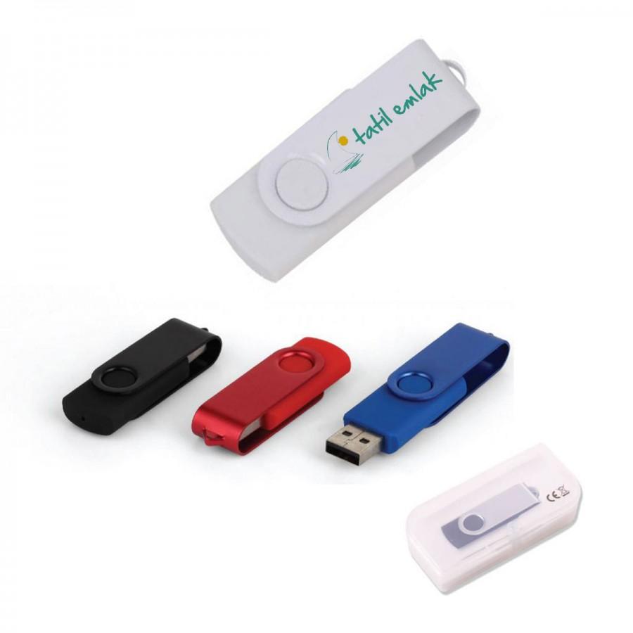 Metal Renkli USB Bellek